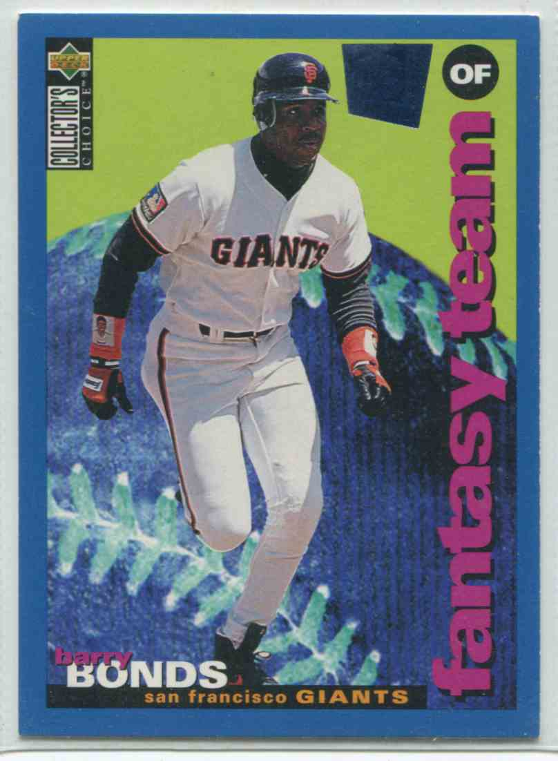 1994 Upper Deck Collector39s Choice Special Edition Barry