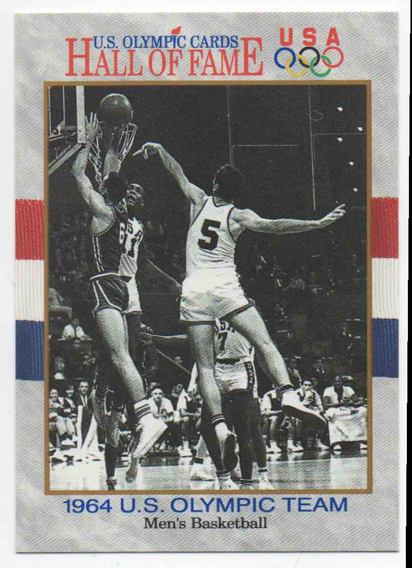 1991 Impel U.S. Olympic Hall Of Fame Lucious Jackson #60 card front image
