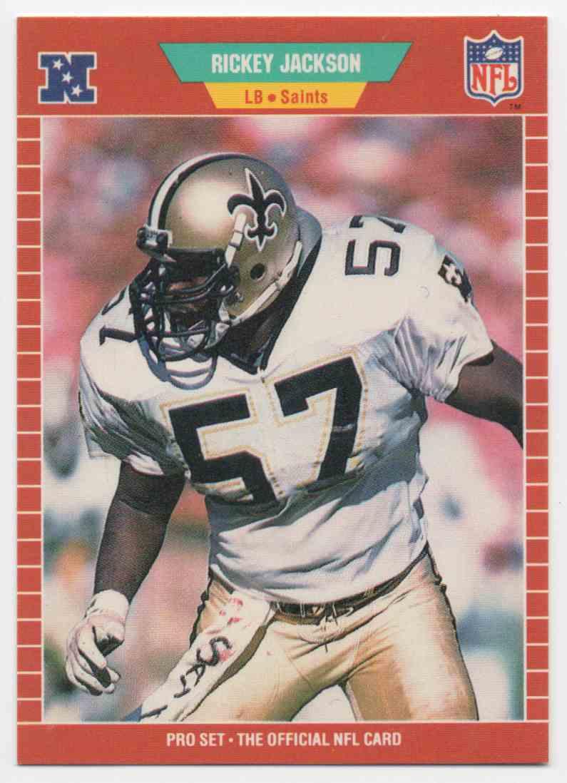 1989 Pro Set Rickey Jackson #270 card front image