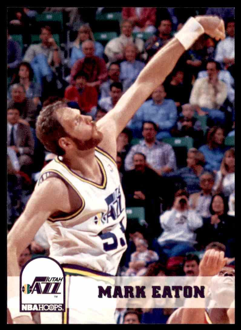 1993-94 NBA Hoops Mark Eaton #215 on Kronozio