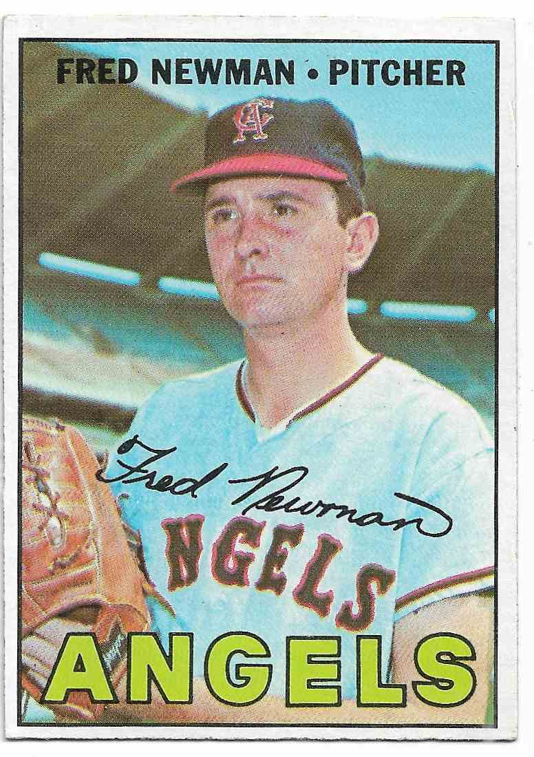 1967 Topps Fred Newman #451 card front image