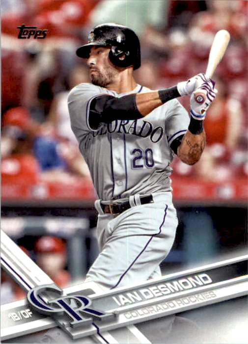 2017 Topps Series 2 Ian Desmond #589 card front image