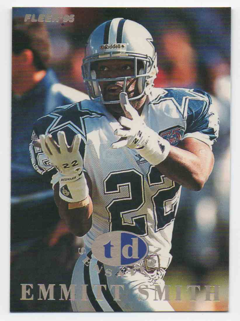 1995 Fleer Td Sensation Emmitt Smith #7 card front image