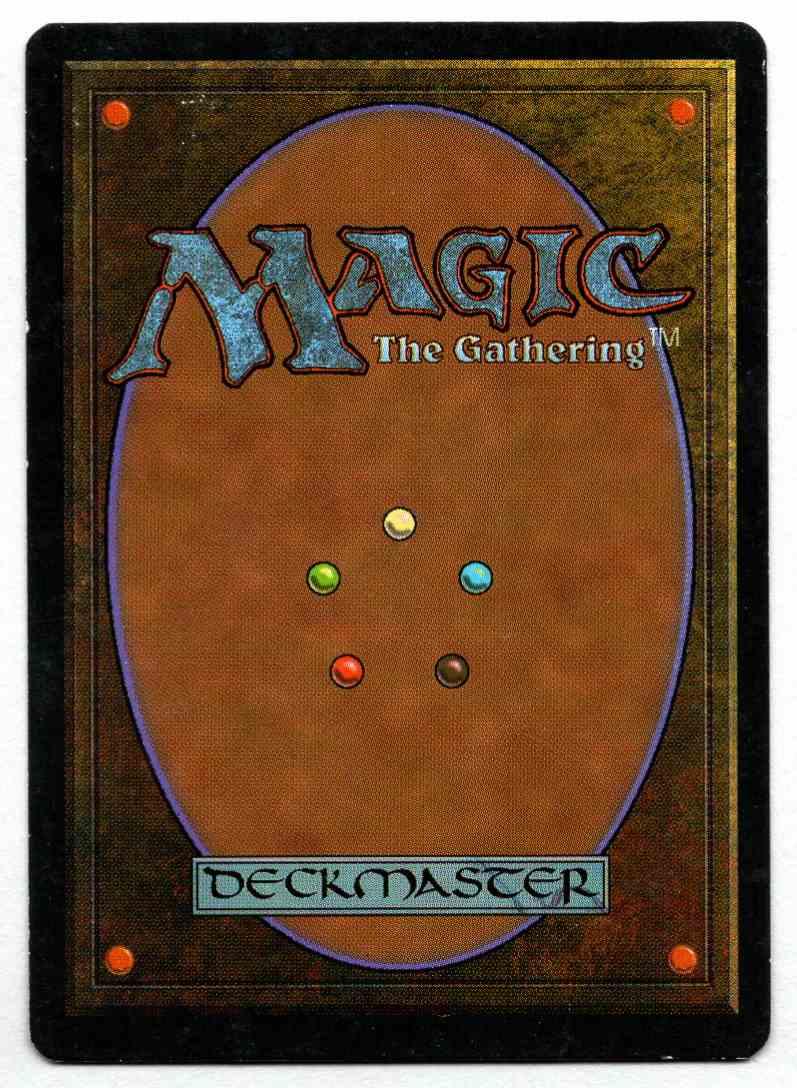 1995 Ice Age Jeweled Amulet card back image