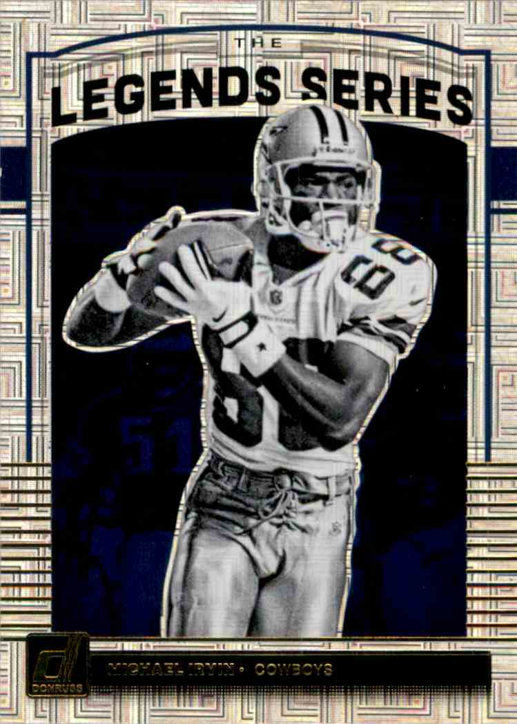 2018 Donruss Optic Legends Series Michael Irvin #LS12 card front image