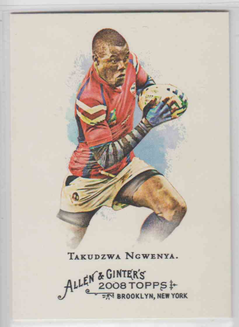 2008 Topps Allen And Ginter Takudzwa Ngwenya #242 card front image