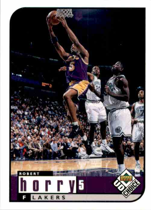 1998-99 UD Choice Robert Horry #70 card front image
