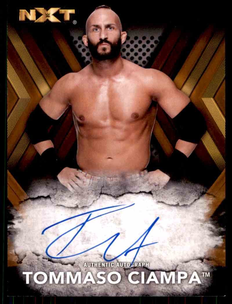 2017 Topps Wwe Nxt Tommaso Ciampa card front image