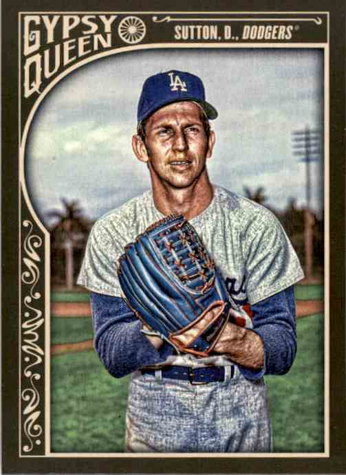 2015 Topps Gypsy Queen Don Sutton #36 card front image