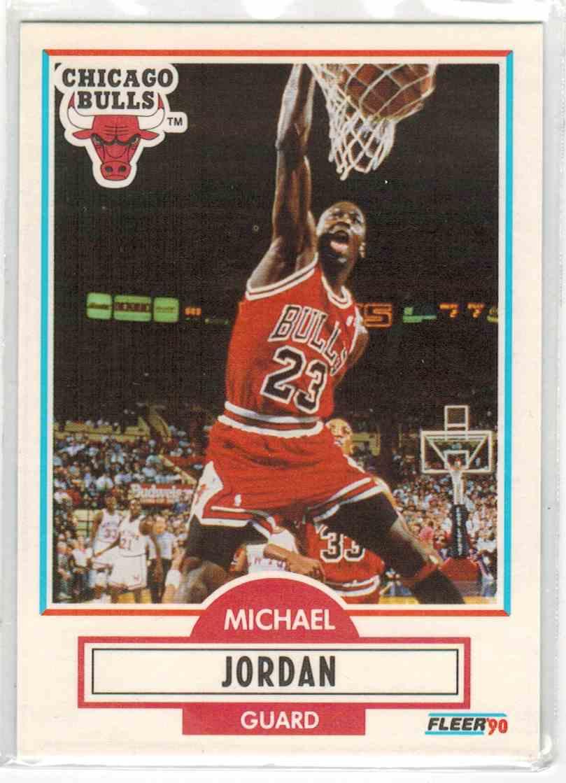 1990-91 Fleer Michael Jordan #26 card front image