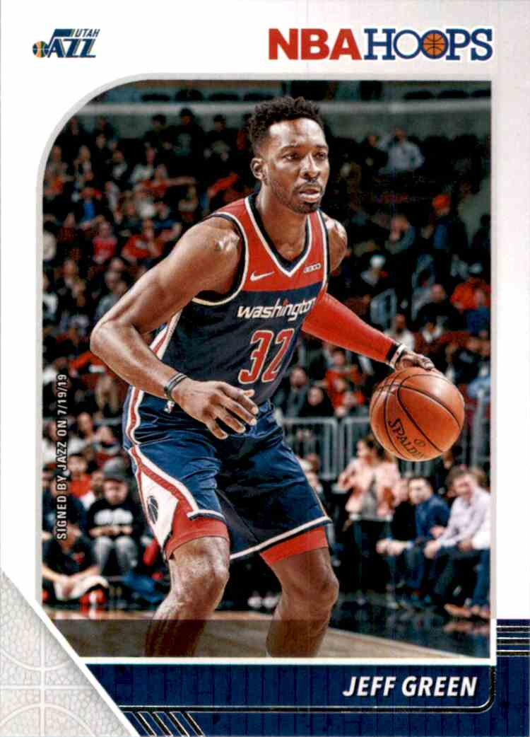 2019-20 Hoops Jeff Green #198 card front image