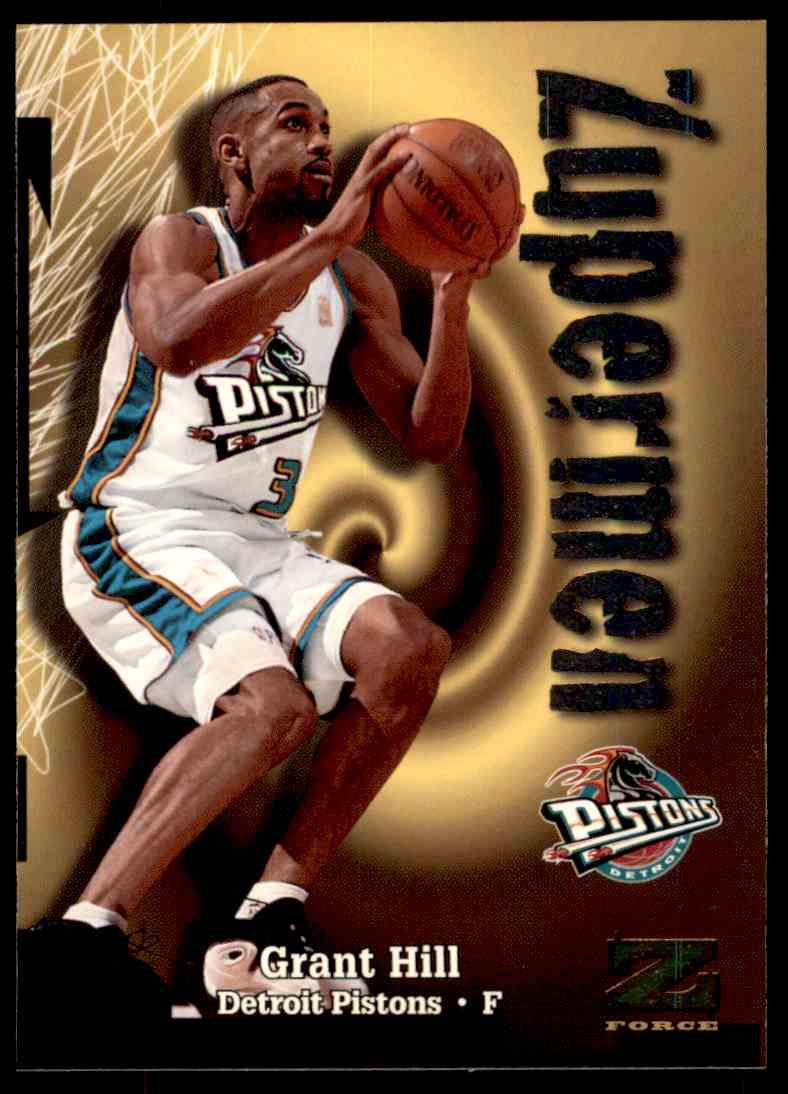 1997-98 Skybox Z Force Zuperman Grant Hill #193 card front image