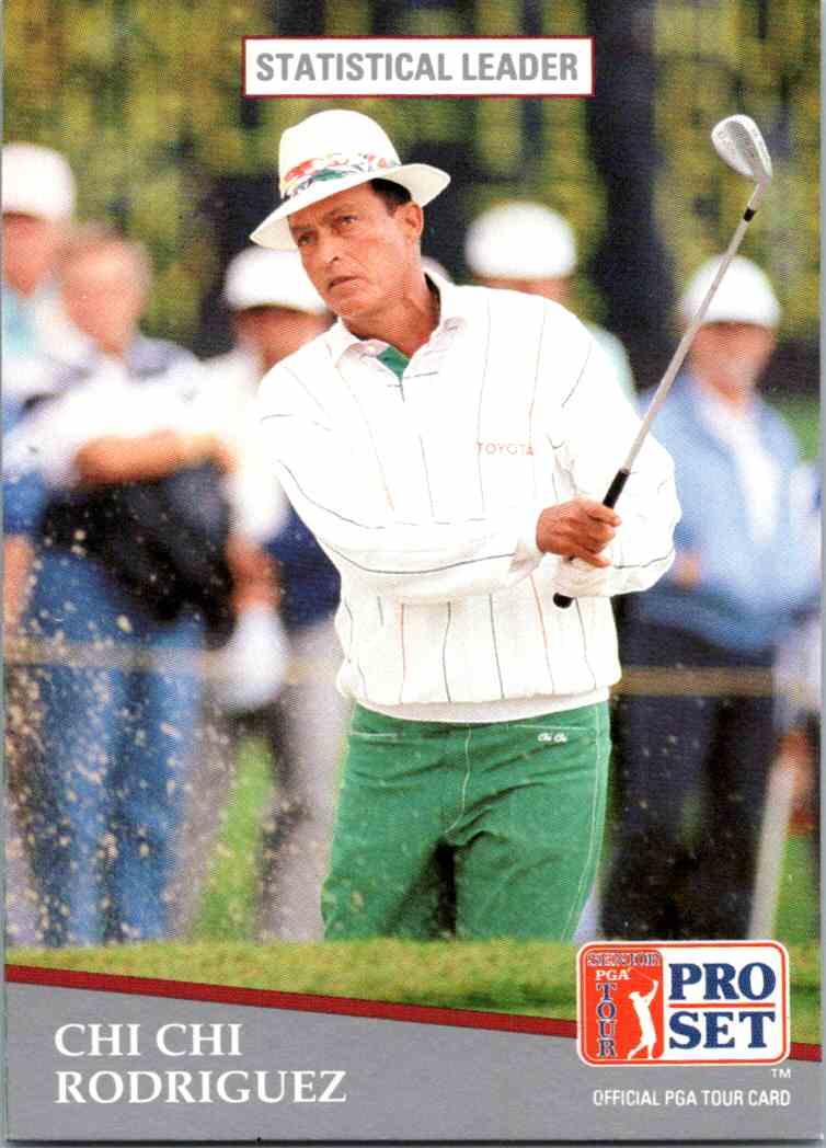 1991 Pro Set Chi Chi Rodrigue #277 card front image