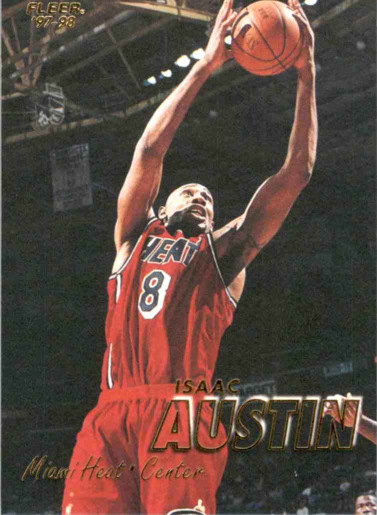 1997-98 Fleer Isaac Austin #26 card front image
