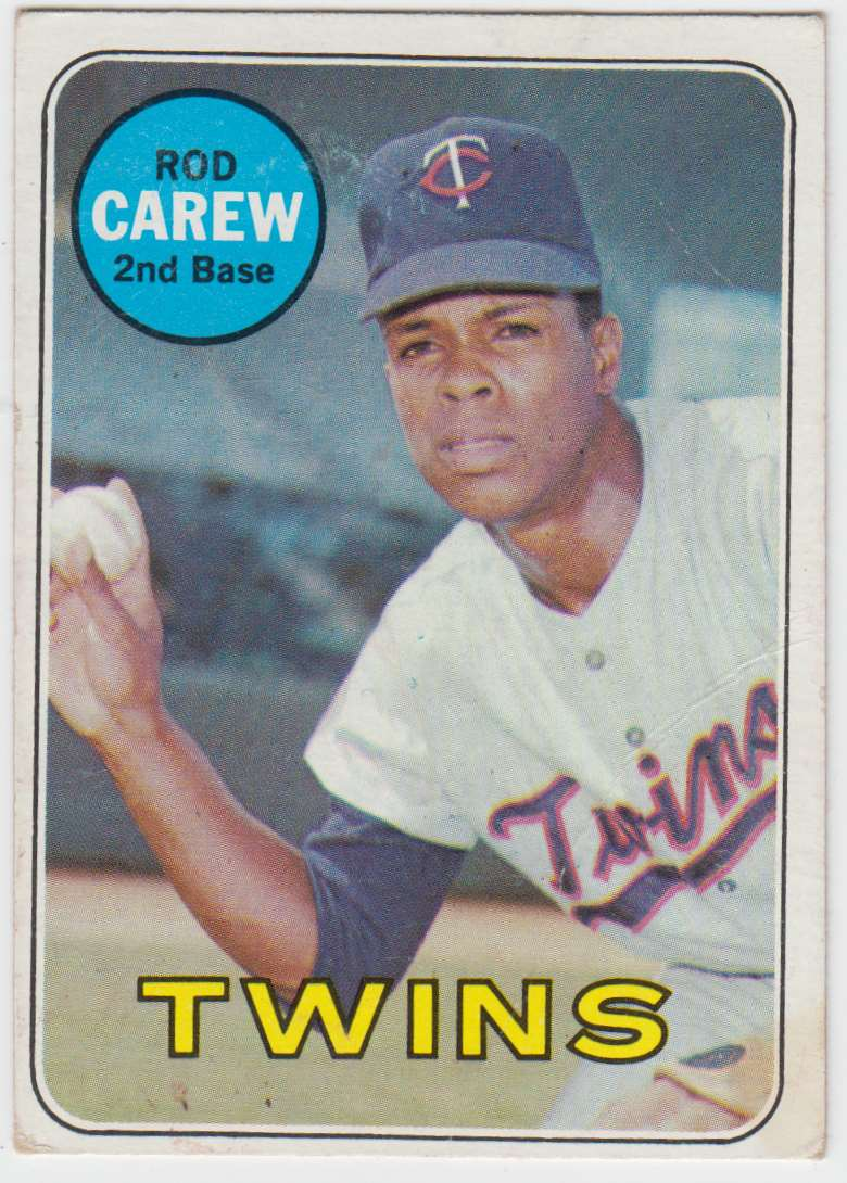 1969 Topps Rod Carew #510 card front image