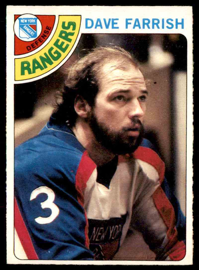 1978-79 O-Pee-Chee Dave Farrish #41 card front image