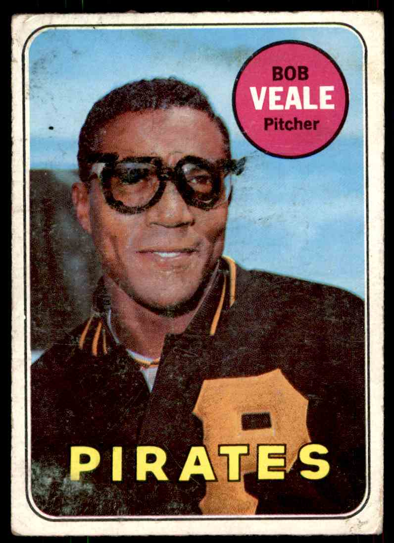 1969 Topps Bob Veale #520 card front image