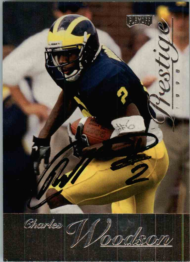 1998 Playoff Prestige Charles Woodson #168 card front image