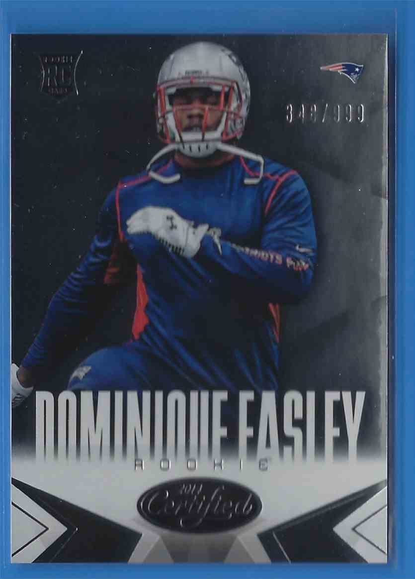 2014 Certified Dominique Easley RC #122 card front image