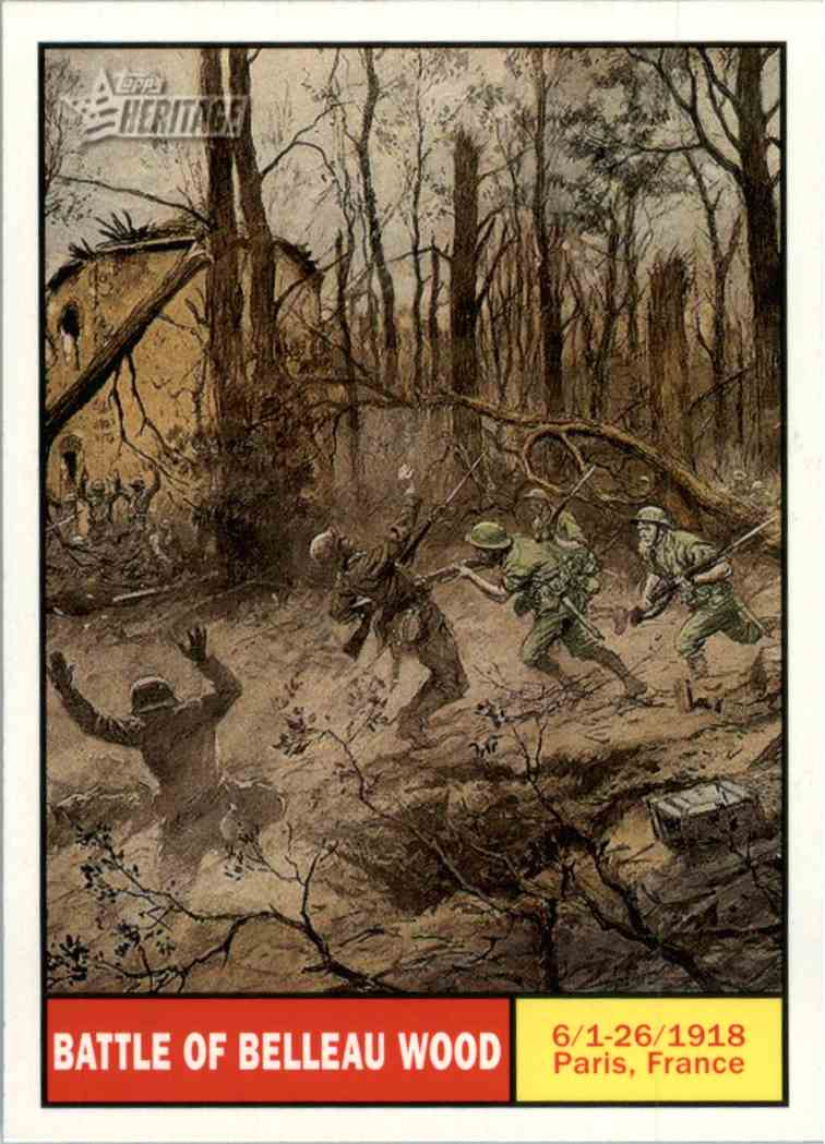 overview of the battle of belleau wood The battle of belleau wood (1-26 june 1918) occurred during the german spring offensive in world war i, near the marne river in france.