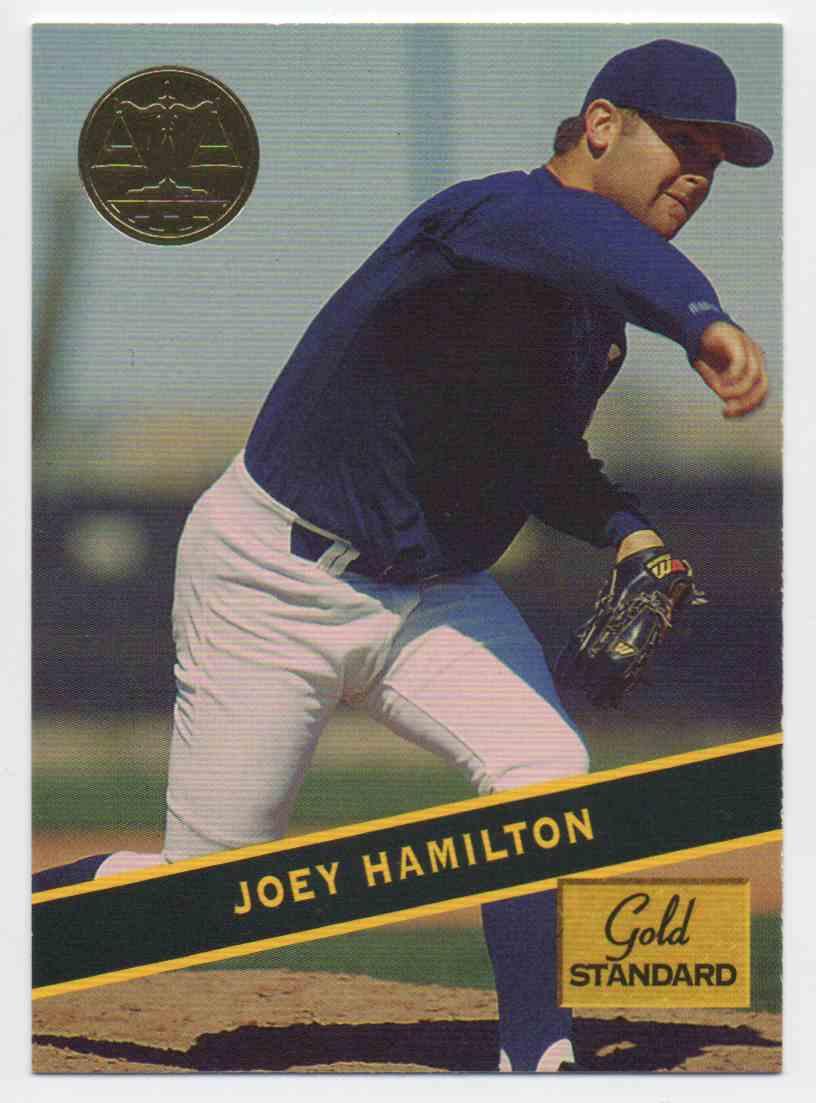 1994 Signature Rookies Gold Standard Joey Hamilton #55 card front image