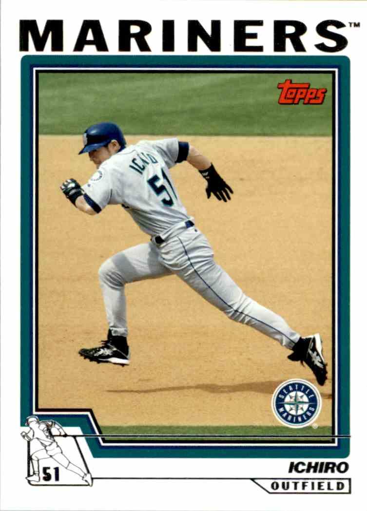 2004 Topps Baseball Ichiro Suzuki 10 On Kronozio