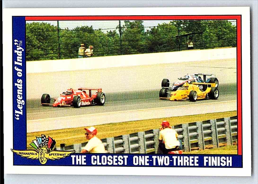 1991 Legends Of Indy B Rahal/R Mears/Kevin Cogan Cars