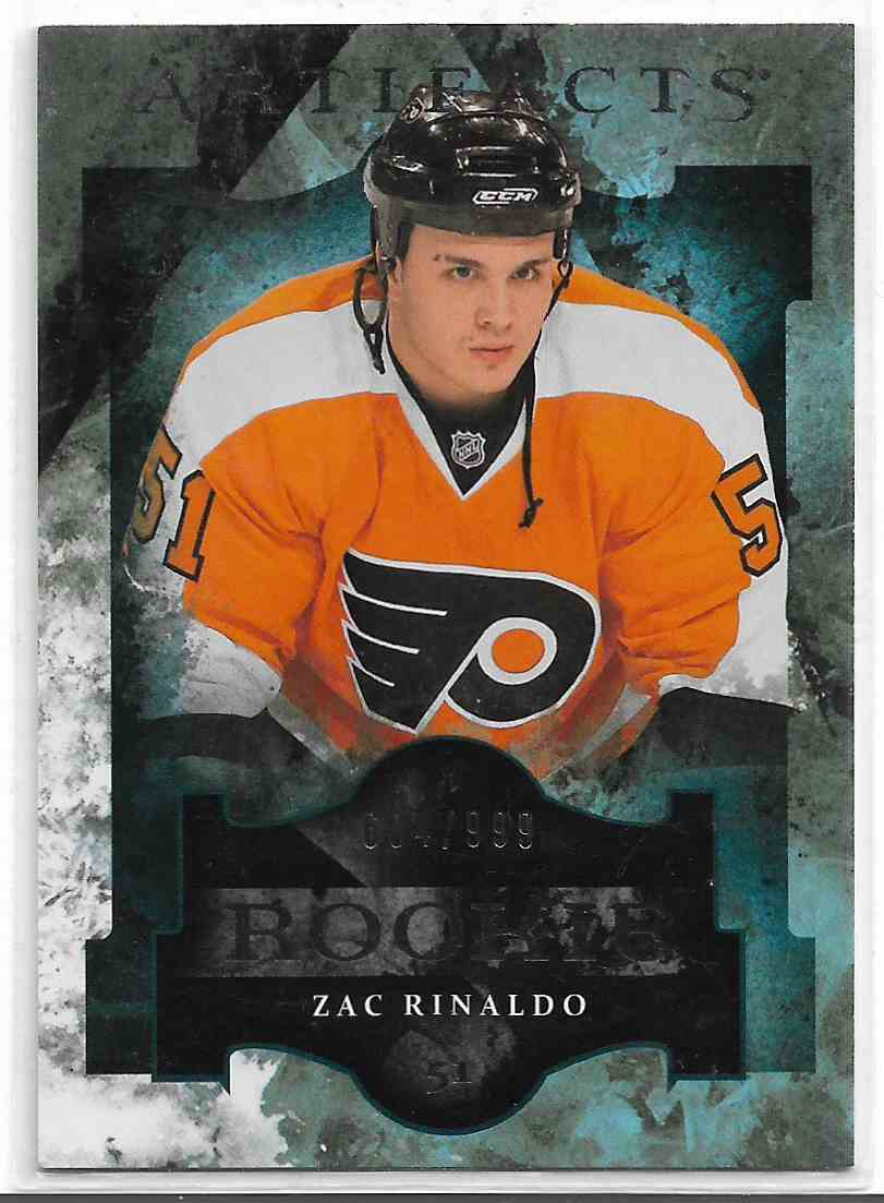 2011-12 Upper Deck Artifacts Zac Rinaldo #188 card front image