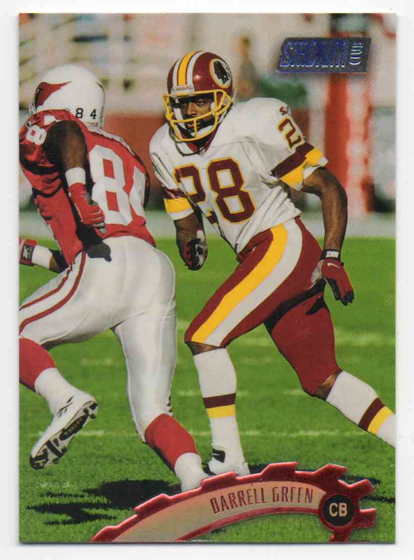 1997 Stadium Club Darrell Green #7 card front image