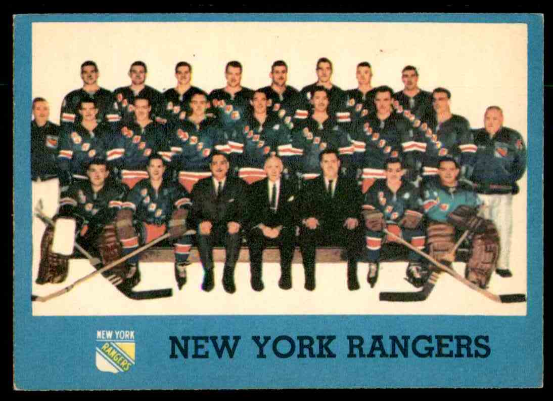 1962-63 Topps Team Pictures #65 card front image