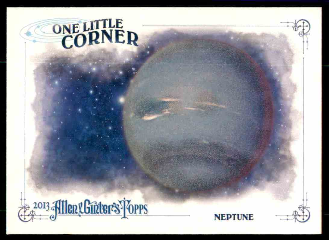2013 Topps Allen And Ginter One Little Corner Neptune #NPT card front image