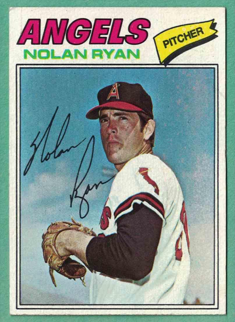 1977 Topps Nolan Ryan Nm 650 On Kronozio