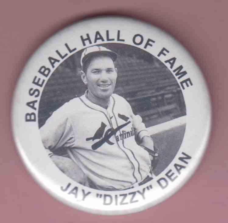 1980 Baseball Hall Of Fame Dizzy Dean #NNO card front image