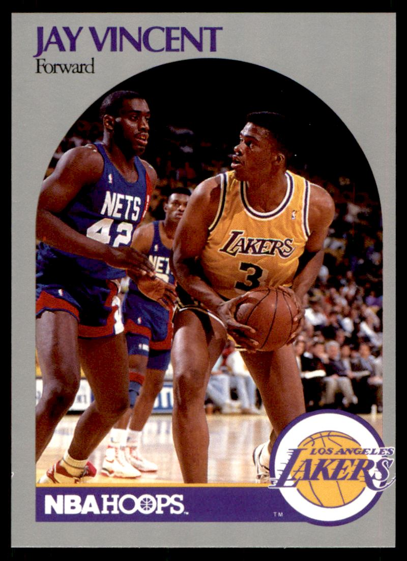 1990 91 Nba Hoops Jay Vincent 161 on Kronozio