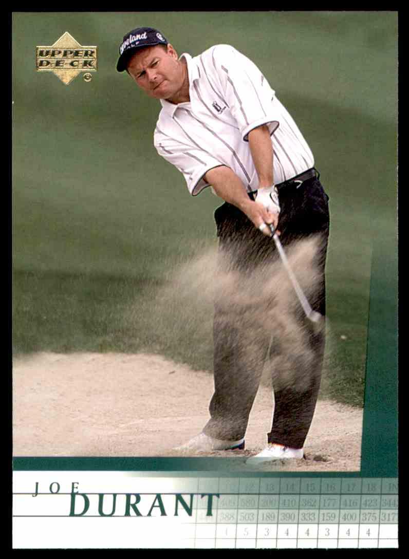 2001 Upper Deck Joe Durant RC #46 card front image