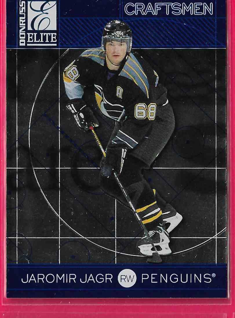 1997-98 Donruss Elite Craftsmen Jaromir Jagr #25 card front image
