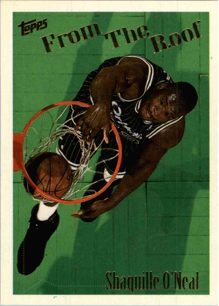1995-96 Topps Shaquille O'Neal #300 card front image