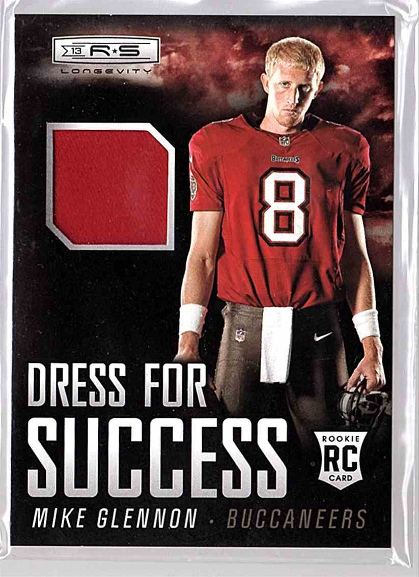 2013 Rookies And Stars Dress For Success Mike Glennon #27 card front image