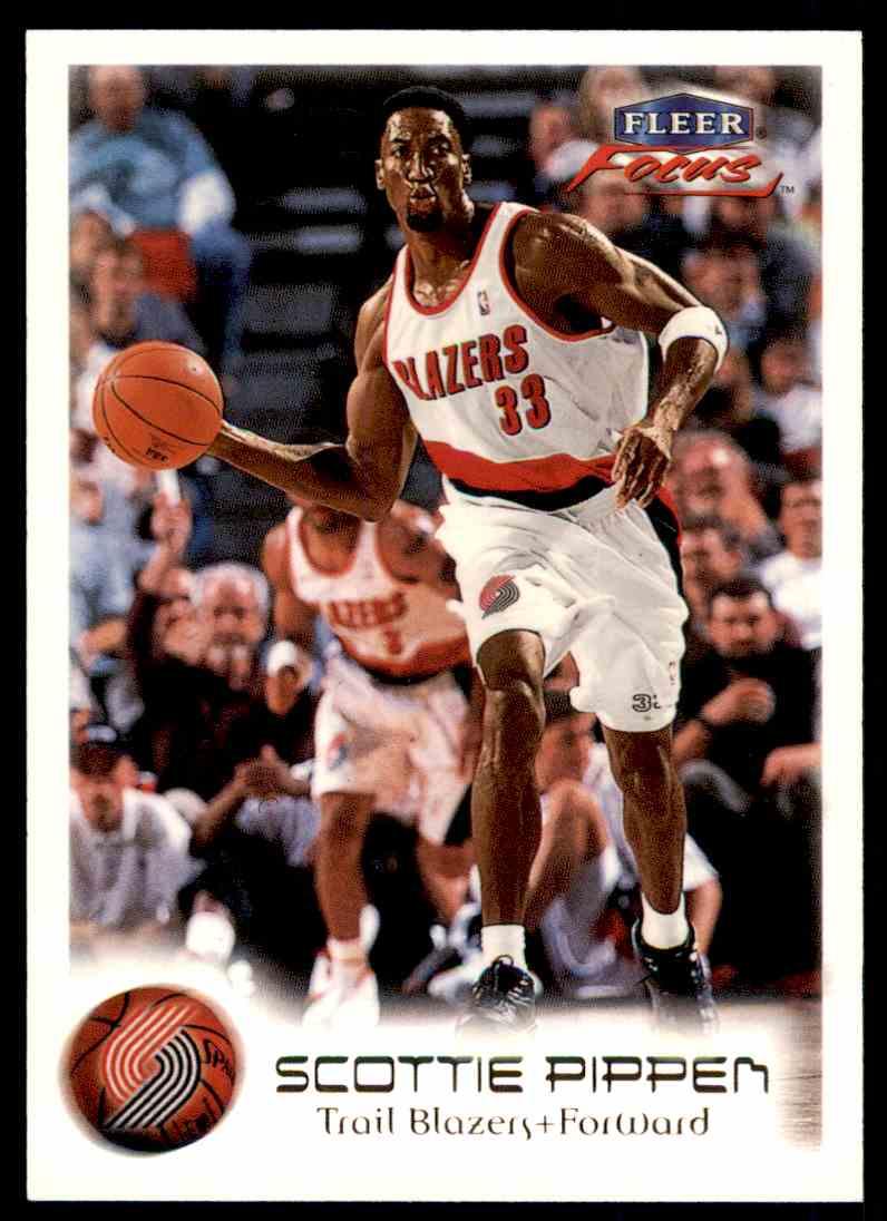 1999-00 Fleer Skybox Basketball Scottie Pippen #25 card front image