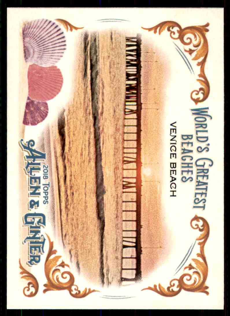 2018 Topps Allen & Ginter World's Greatest Beaches Venice Beach #WGB-7 card front image