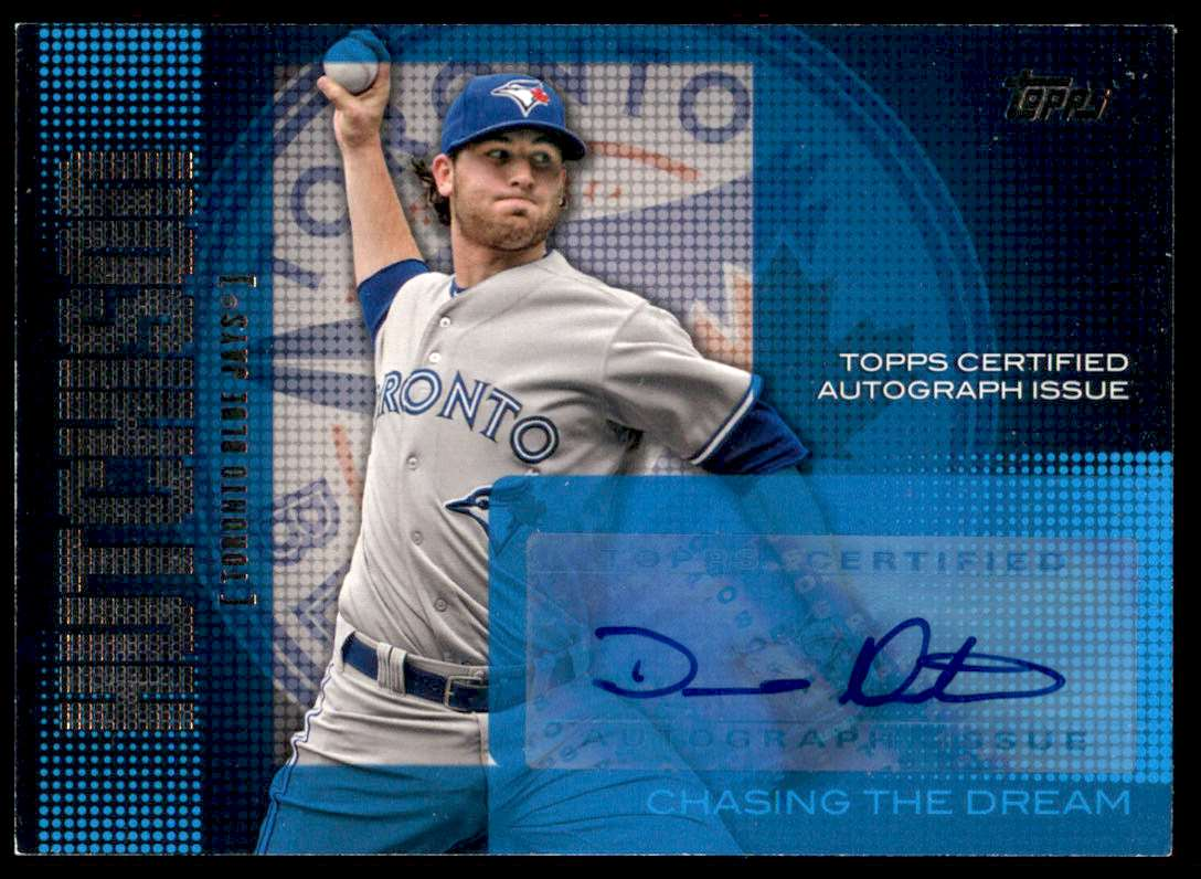2013 Topps Chasing The Dream Autographs Drew Hutchison #CDA-DH card front image