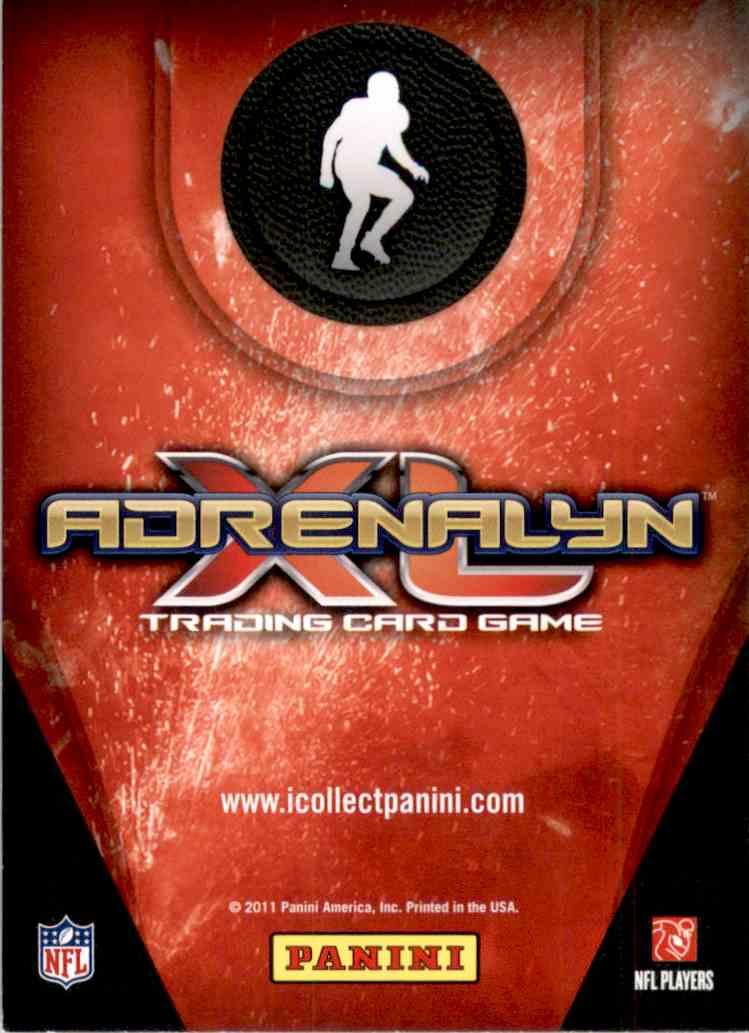 2011 Adrenalyn XL Ultimate Signature Darrelle Revis #U22 card back image