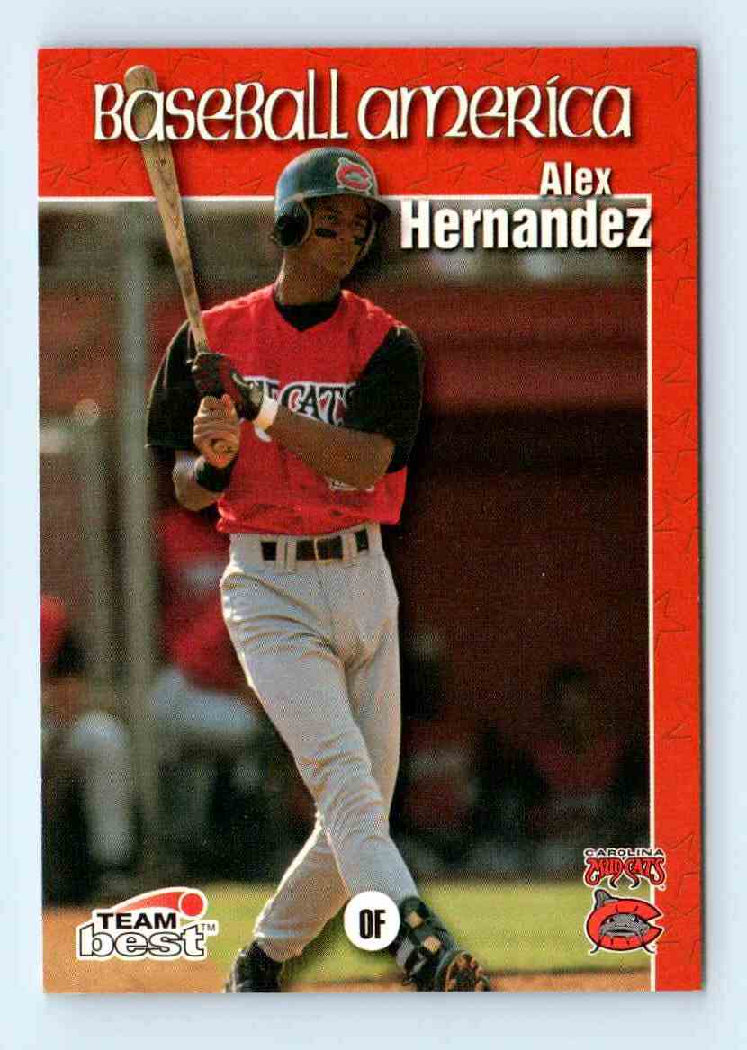 1999 Team Best Baseball America Alex Hernandez 51 On