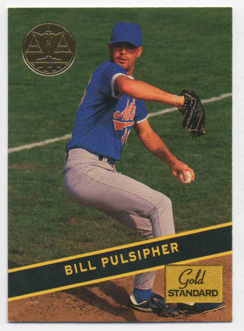 1994 Signature Rookies Gold Standard Bill Pulsipher #68 card front image