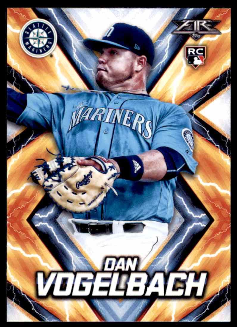 new product ff6b8 591cd 2017 Topps Fire Dan Vogelbach Rookie Card #82 on Kronozio