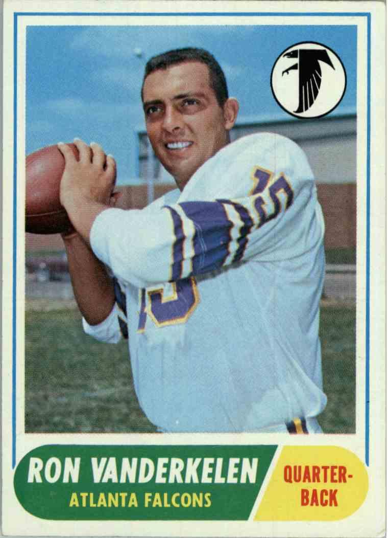 1968 Topps Ron Vanderkelen #125 card front image