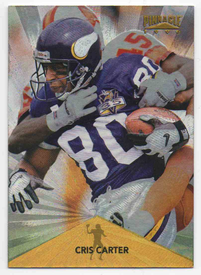 1996 Pinnacle Trophy Collection Cris Carter #6 card front image