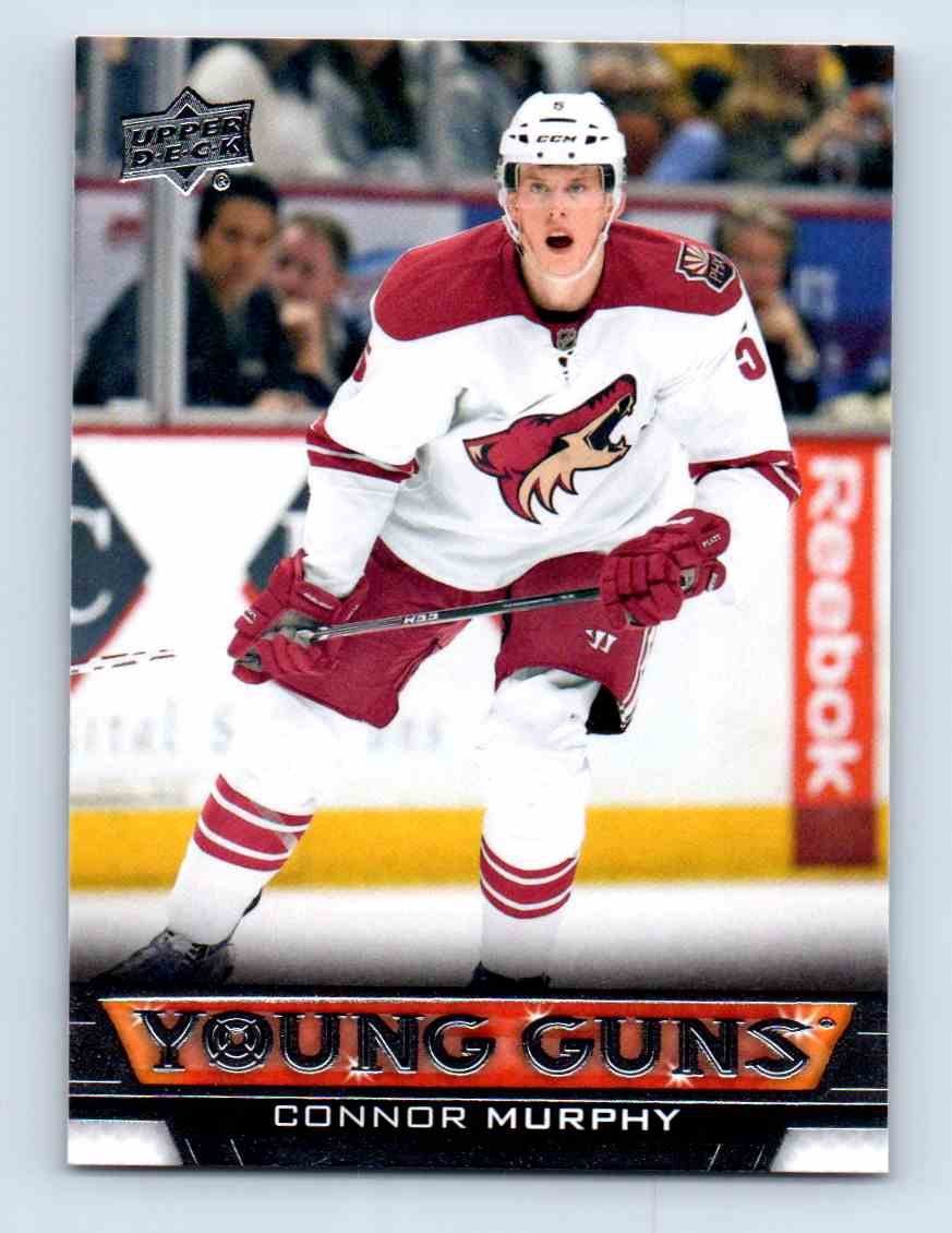 2013-14 Upper Deck Young Guns Connor Murphy #493 card front image