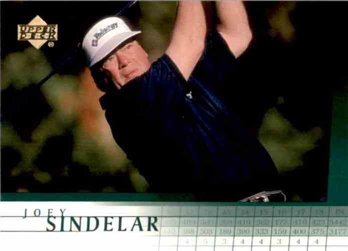 2001 Upper Deck Joey Sindelar #5 card front image