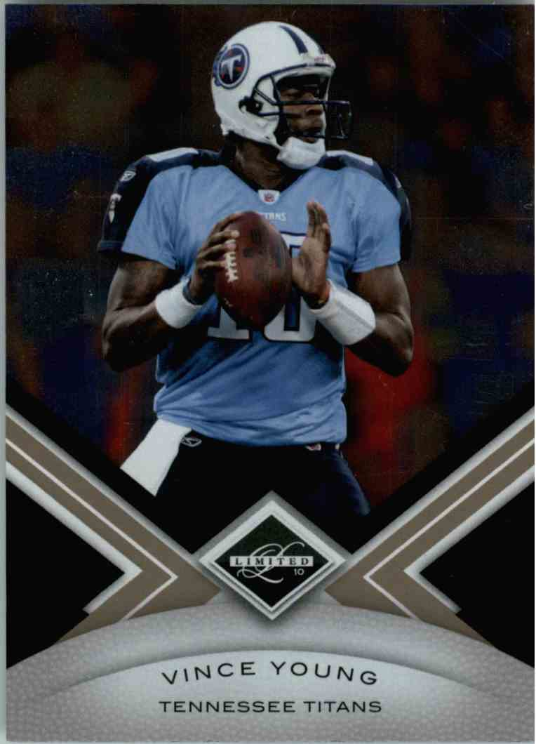 2010 Leaf Limited Vince Young #96 card front image